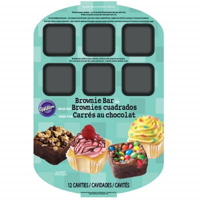 Brownie Bar Pan 12 Cavity 15.75