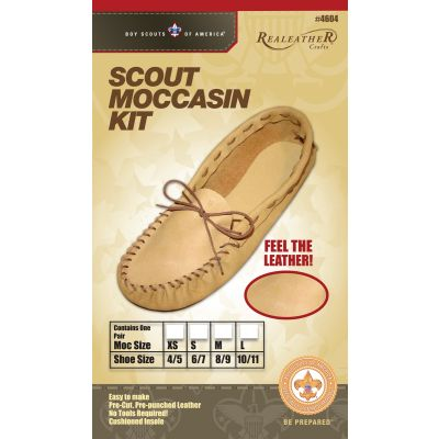 Leathercraft Kit Scout Moccasin  Size 10/11 - C4604-04