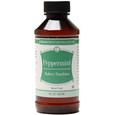 Bakery Emulsions Natural & Artificial Flavor 4Oz Peppermint - 0806-0766