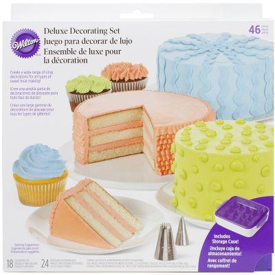 Deluxe Cake Decorating Set 46Pcs  - W41368