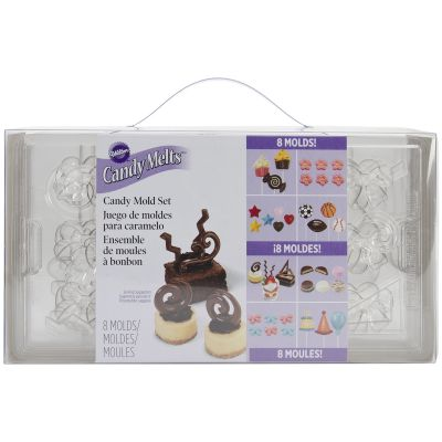Candy Mold Set Assorted 69 Cavity (19 Designs) - W50030
