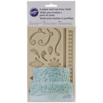 Fondant & Gum Paste Silicone Mold 5