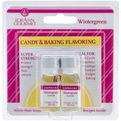 Candy & Baking Flavoring .125Oz 2/Pkg Wintergreen - FLAVOR-50