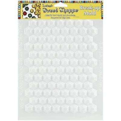 Sweet Shoppe Candy Molds Hexagon Breakup 90 Cavity - L55-42