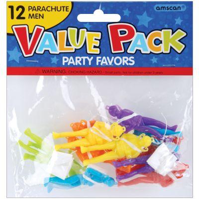 Party Favors 12/Pkg Parachute Men - 390201