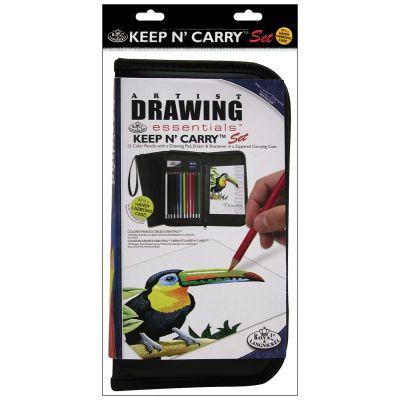 Keep N' Carry Artist Set Drawing - RSETKCDS