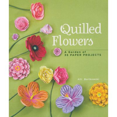 Sterling Publishing Quilled Flowers - STP-14547