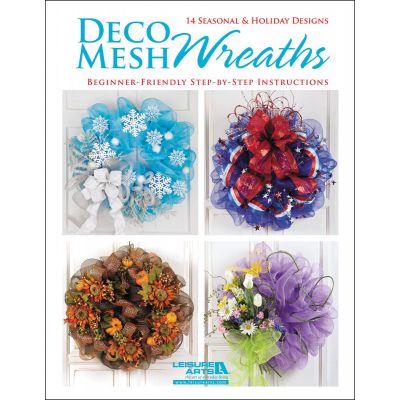 Leisure Arts Deco Mesh Wreaths - LA-5834