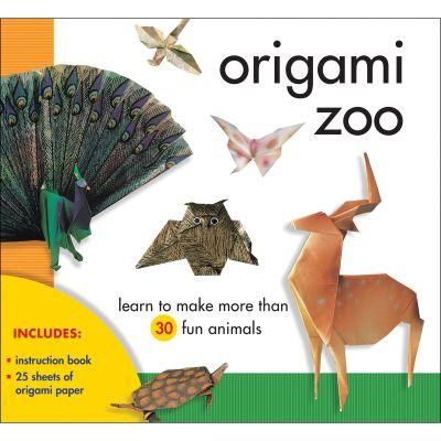Sterling Publishing Origami Zoo Kit - STP-79614