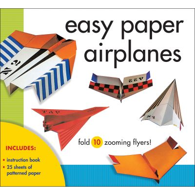 Sterling Publishing Easy Paper Airplanes Kit - STP-79610