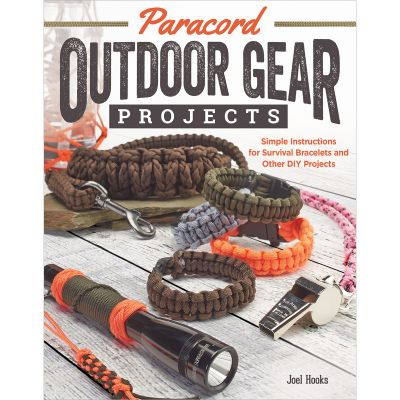 Fox Chapel Publishing Paracord Outdoor Gear Projects - FOX-8466