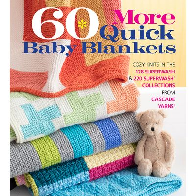 Sixth & Springs Books 60 More Quick Baby Blankets - SSB-21896