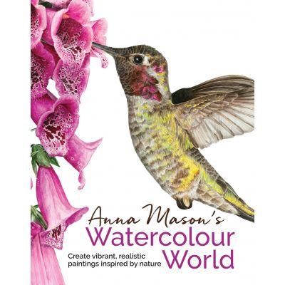 Search Press Books Anna Mason'S Watercolour World - SP-13475