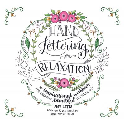 Page Street Publishing Hand Lettering For Relaxation - PAGE-43854