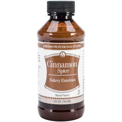 Bakery Emulsions Natural & Artificial Flavor 4Oz Cinnamon Spice - 0806-0738