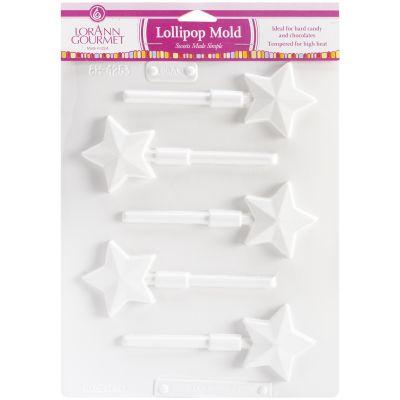 Lollipop Sheet Mold Star 5 Cavity (1 Design) - LOLLI5-5579