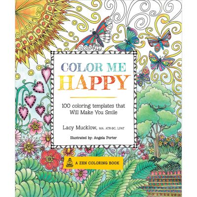 Race Point Publishing Books Color Me Happy - RPP-99476