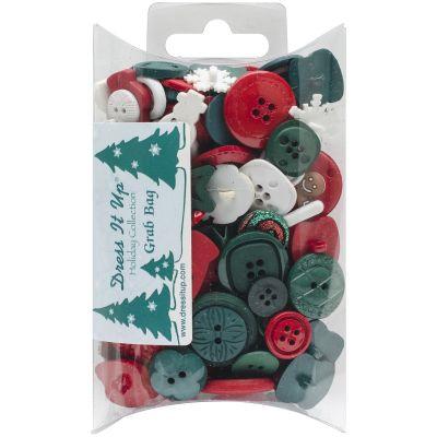 Dress It Up Embellishments Grab Bag Christmas - DIUGB-1460