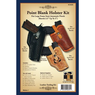Leathercraft Kit Point Blank Holster - C4225-00