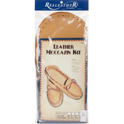 Leathercraft Kit Scout Moccasin  Size 12/13 - C4604-05