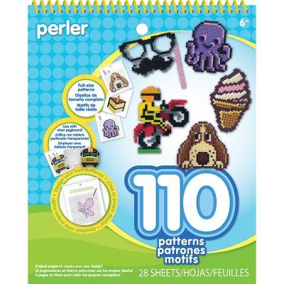 Perler Pattern Pad Striped Beads - 80-22797