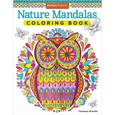 Design Originals Nature Mandalas Coloring Book - DO-5492