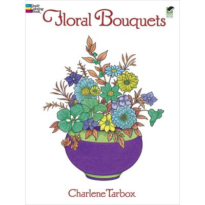 Dover Publications Floral Bouquets Coloring Book - DOV-28654