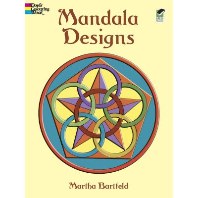 Dover Publications Mandala Designs Coloring Book - DOV-41034