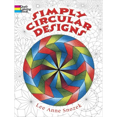 Dover Publications Simply Circular Designs Coloring Book - DOV-44461