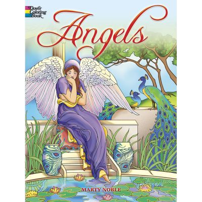 Dover Publications Angels Coloring Book - DOV-46775