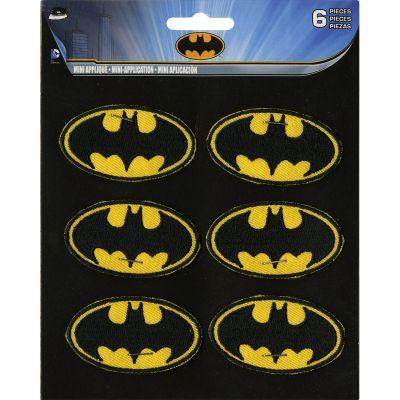 C&D Visionary Dc Comics Patch Batman Insignia 6/Pkg 2