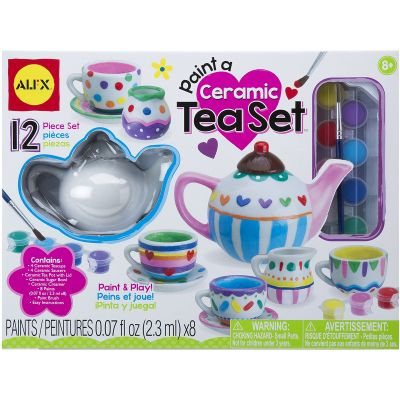 Paint A Ceramic Tea Set Kit  - 171P