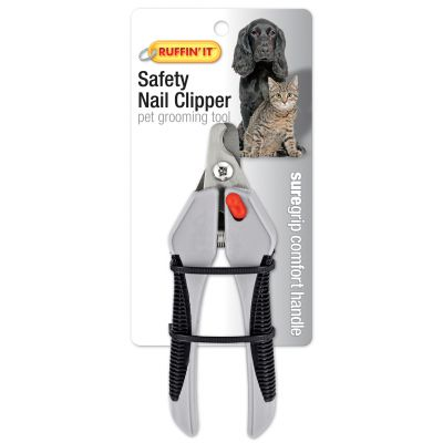 Soft Grip Safety Nail Clipper For Dogs & Cats  - 19705