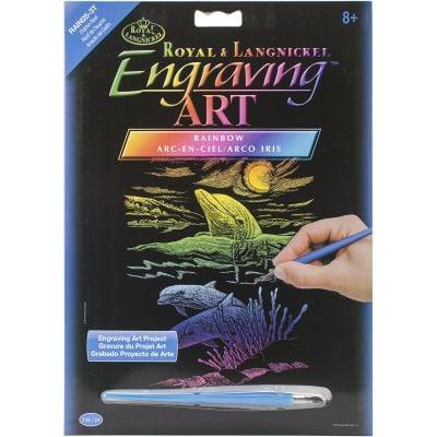 Rainbow Foil Engraving Art Kit 8
