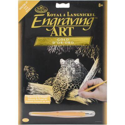 Gold Foil Engraving Art Kit 8