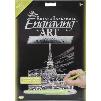 Silver Foil Engraving Art Kit 8