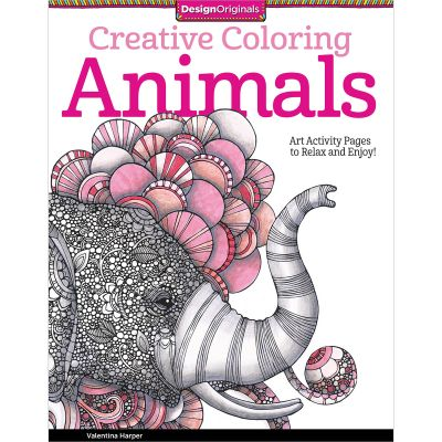 Design Originals Creative Coloring Animals - DO-5506