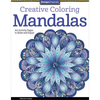 Design Originals Creative Coloring: Mandalas - DO-5508