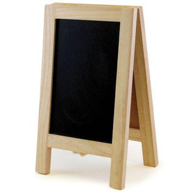 Chalkboard/Cork Easel 4.375