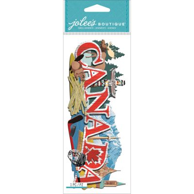 Jolee'S Boutique Title Waves Dimensional Stickers Canada - E5060404
