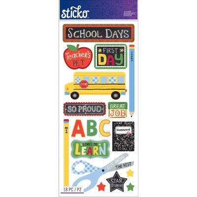 Sticko Stickers School - E5260129