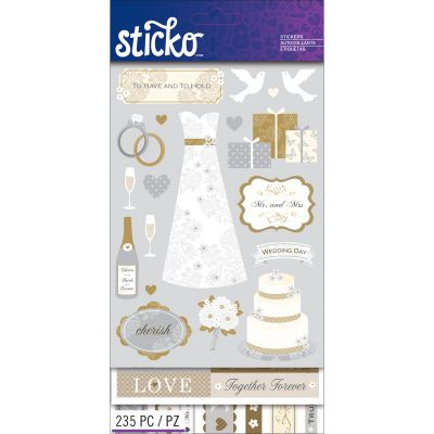 Sticko Flip Pack Wedding - E5260123