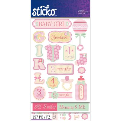 Sticko Flip Pack Baby Girl - E5260124