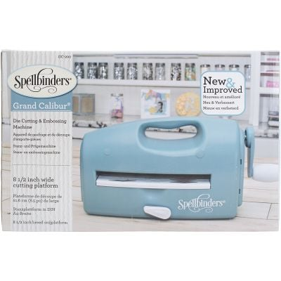 Spellbinders Grand Calibur Cut & Emboss Machine Teal - GC200