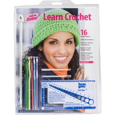 Susan Bates Learn Crochet! Kit 3/Pk-