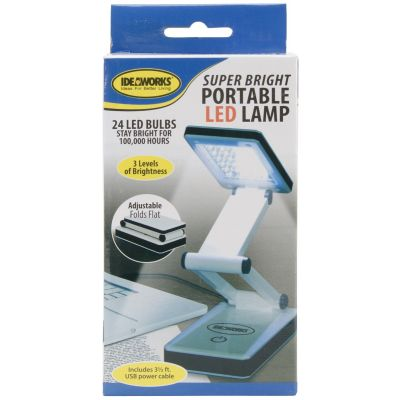 Frand A. Edmunds Super Bright Portable LED Lamp 3/Pk-White