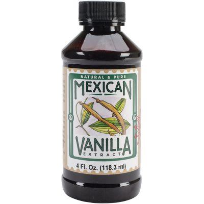Mexican Vanilla Extract 4Oz - 30250806