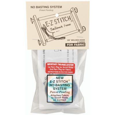 E-Z Stitch Scroll Rod Molded Hook Tape .375