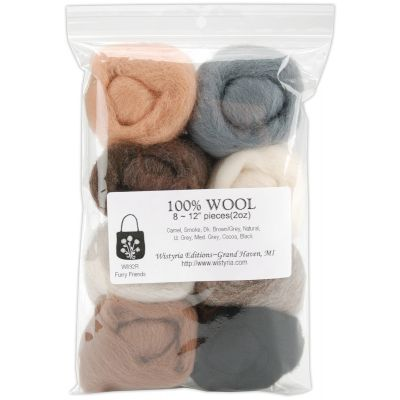 Wystyria Editions Wool Roving 12