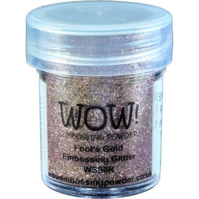 Wow! Embossing Powder 15Ml Fool'S Gold - WOW-WS80R